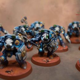 Lots of Ultramarine Terminators