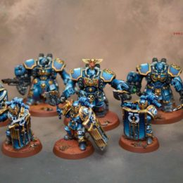 Ultramarine Invictarus Suzerain Squad & Centurions