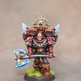 Blood Angel Terminator Librarian & Captain with Jump Pack