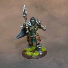 3D Printed Orc RPG Miniature
