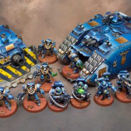Ultramarine Vehicles and Hard Hitters