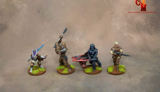 Heaps of Star Wars Imperial Assault Miniatures