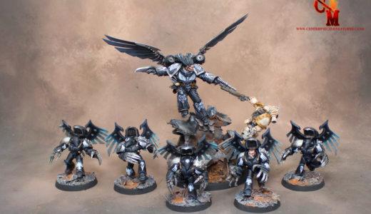 Corvus Corax & Raven Guard Dark Fury Squad