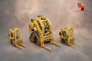 Future & 40k industrial machines