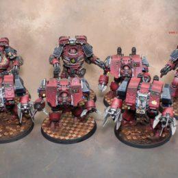 Warhammer 30k Word Bearers Dreadnoughts