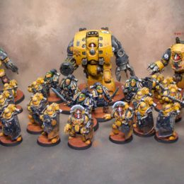 Imperial Fist for Horus Heresy