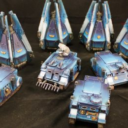 Ultramarine Vehicles