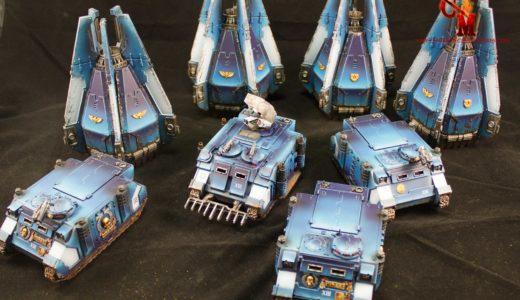 Ultramarine Vehicles