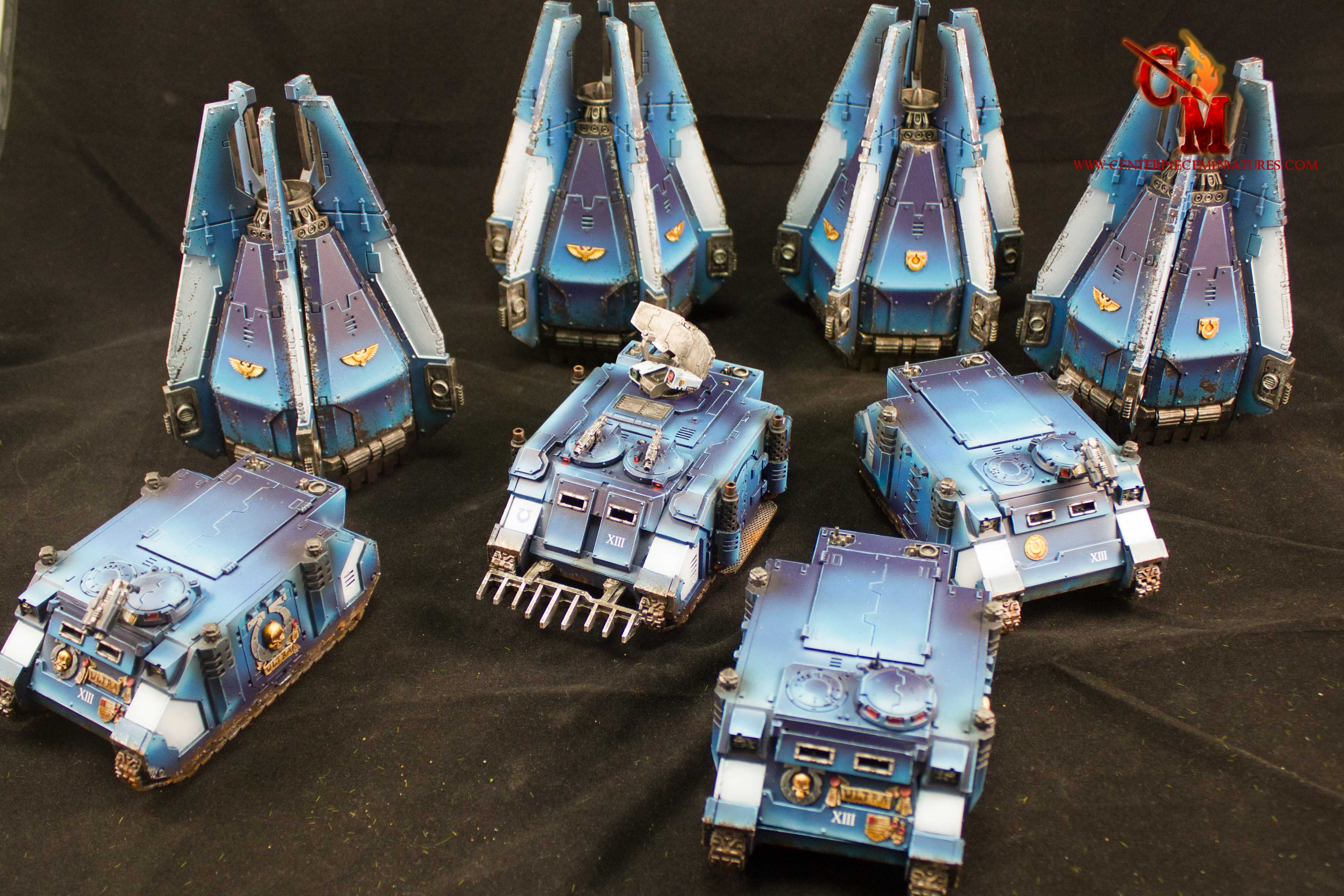 879bf1950922 ... whole stack of Ultramarines vehicles… ok those who follow me on  Instagram will realise that I actually completed these vehicles months ago  and that i m ...