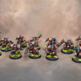 Blood Bowl Orcs & Skaven
