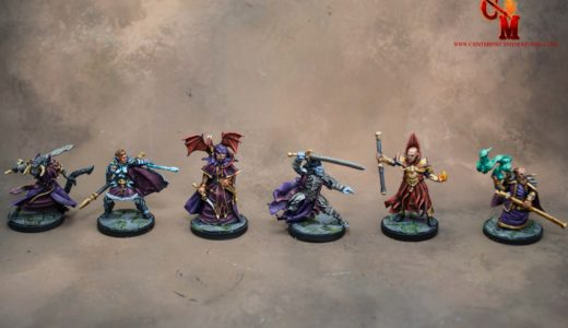 D&D Dragon Cultist Miniatures
