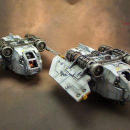 Warhammer 40k Scenery – Arvus Lighters