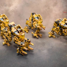 Warhammer 40k Scenery – Industrial Loaders
