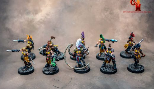 Necromunda Gangs – Orlocks and Escher