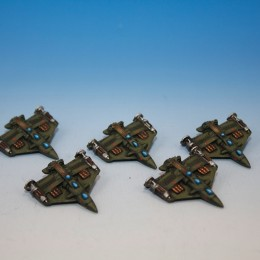 Dystopian Wars Japanese Fleet 3rd Batch