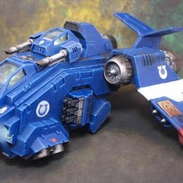 Ultramarines Sicaran Tank & Storm Raven