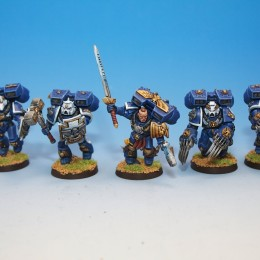 Ultramarine Forces with Vindicator