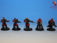 Mechanicus Army Cultists