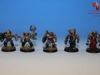 Mechanicus Army Servitors