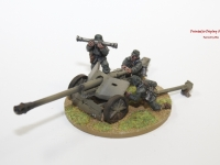 Bolt Action German Pak 40 Field Gun