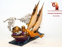 Dreadfleet Flaming Scimitar