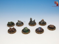 Dystopian Wars - Objective Tokens