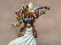 Warmachine Menoth painted to Level 4