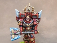 Blood Angel Captain with Jump Pack