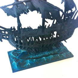 Dreadfleet water for ship base