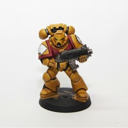 Warhammer 40k Imperial Fist Commission Paint job