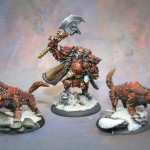 Khador Butcher Warhound