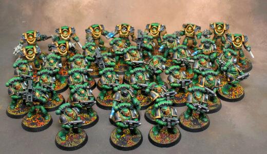 Horus Heresy Salamader Army